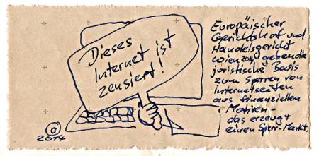 Internet Zensur Österreich 2014